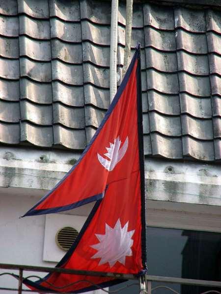 bandiera del nepal significato