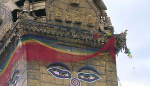 occhi buddha