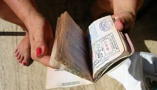 timbri passaporto