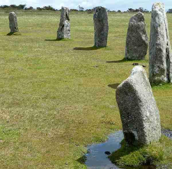 Cerchi di pietra a Bodmin moor