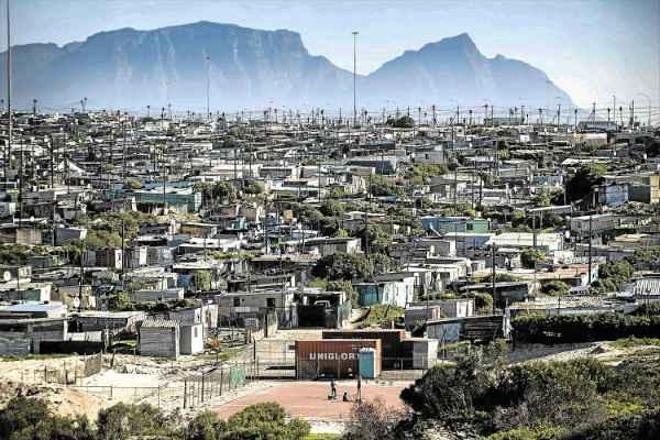cape town township Khayelitsha