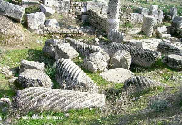 colonne a torciglione Apamea