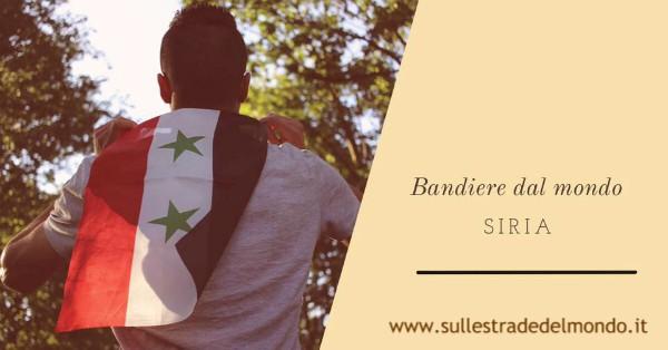 significato bandiera della Siria
