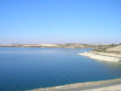 Il fiume Eufrate dal castello di Qala'at Ja'abar