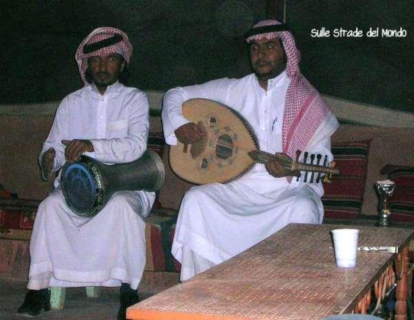 musicisti beduini