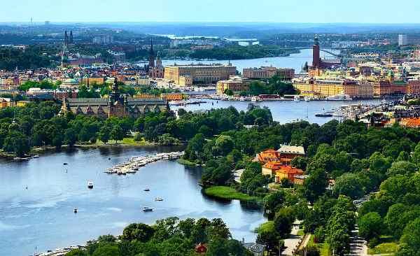 Panorama Stoccolma