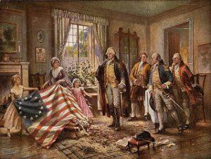 la prima bandiera americana