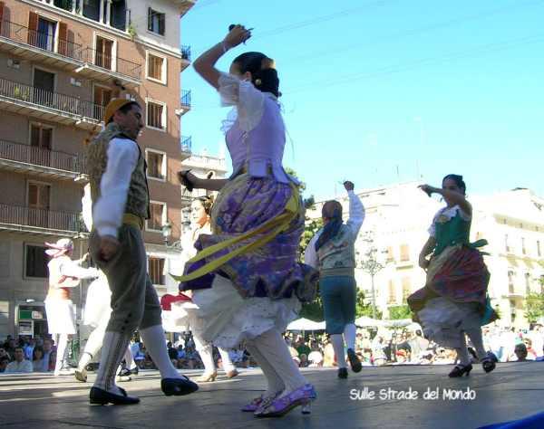 Danze valenciane in piazza