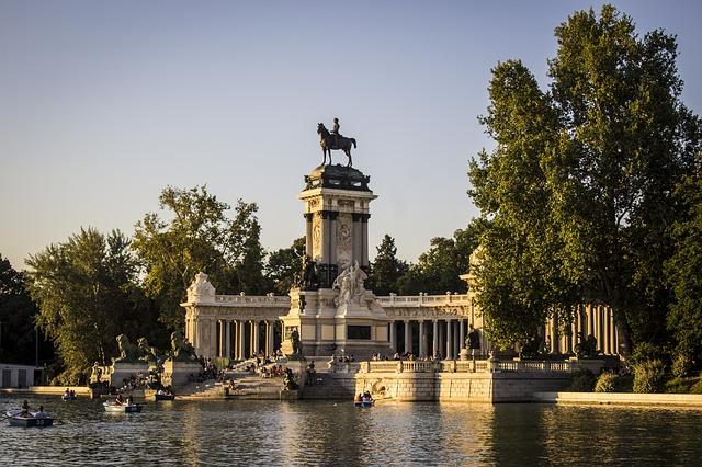 Madrid Parco de El Retiro