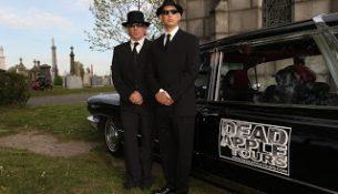 new york tour in carro funebre