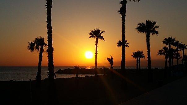 Barceloneta tramonto