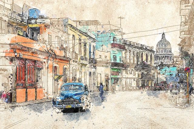 Cuba disegno