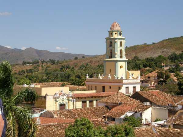 Trinidad Torre orologio