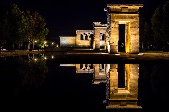 Madrid Tempio di Debod