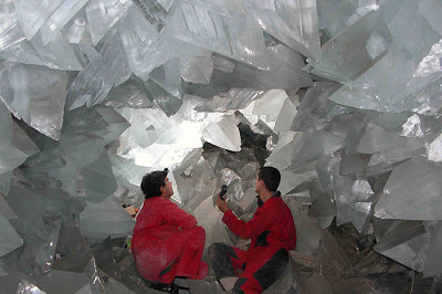 La grotta dei cristalli