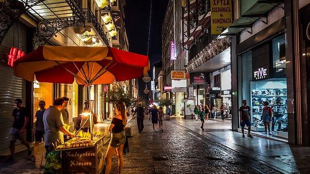 street food ad Atene