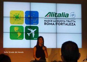 Presentazione Volo Alitalia Fortaleza