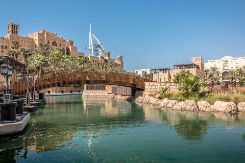 a Medinat Jumeirah gli hotel più lussuosi di dubai