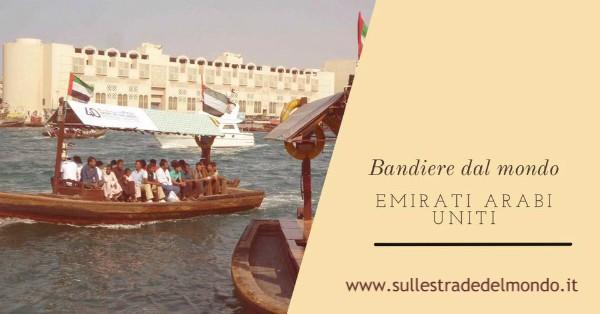 bandiera Emirati Arabi Uniti il significato