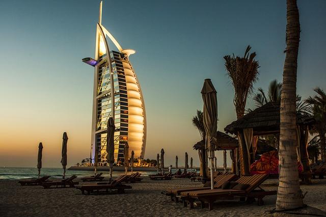 hotel lussuosi a dubai il Burj al arab
