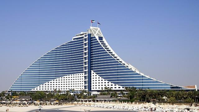 hotel Jumeirah beach a Dubai.