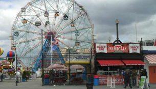 Coney Island ruota panoramica