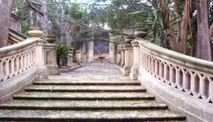 Palazzo Corina e i suoi giardini all'italiana