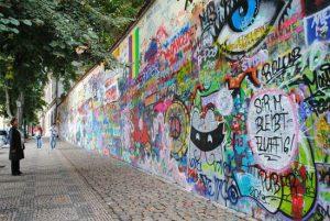 Praga muro John Lennon