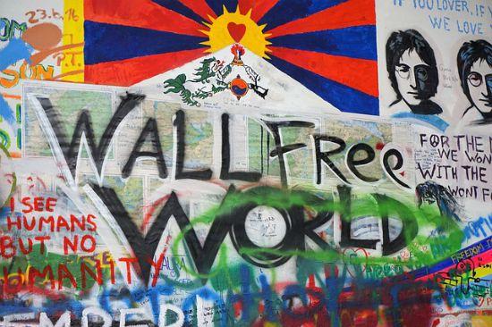 Il Muro di John Lennon – Praga
