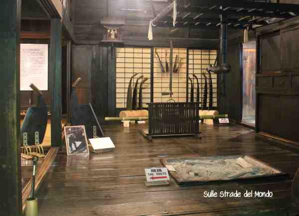 Takayama Hida village interno casa