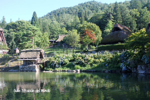 Hida folk village Takayama