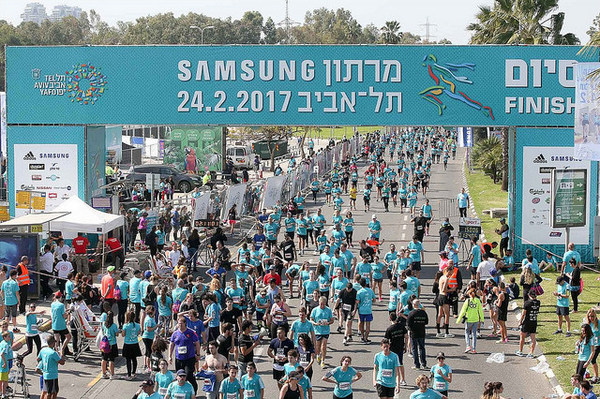 a febbraio maratona di tel aviv - israele