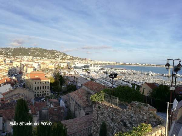 panorama cannes da Le Suquet