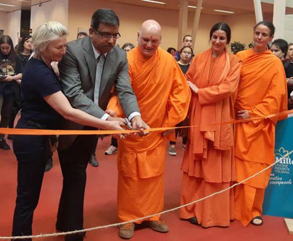 inaugurazione Mostra Gandhi