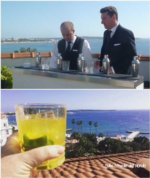 Emanuele Balestra barman del Majestic Cannes