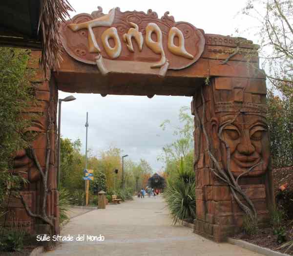 Tonga nuova area Rainbow Magicland