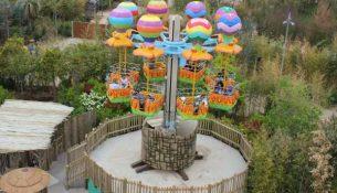 mongolfiere Rainbow Magicland