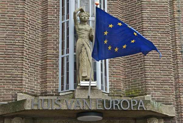 bandiera europea