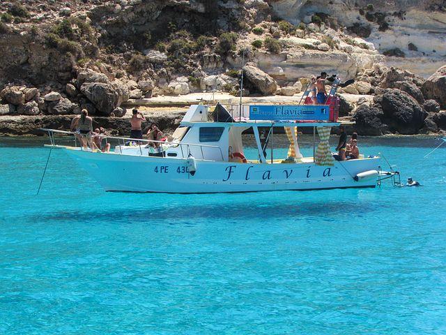 lampedusa in barca