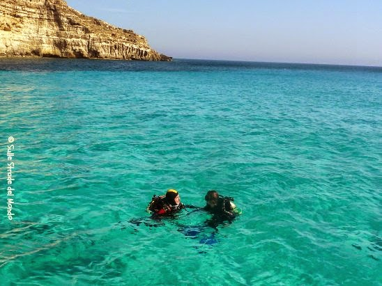 fare immersioni a lampedusa