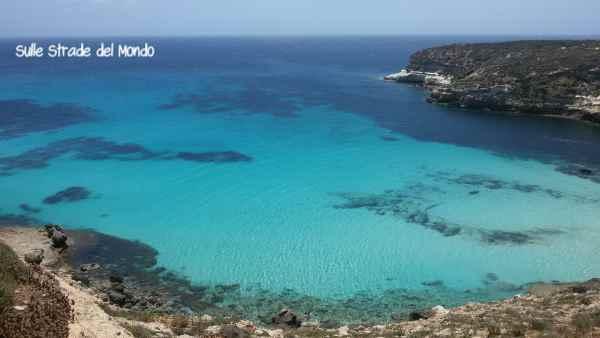 Mare blu a Lampedusa