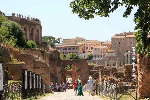 Fori Imperiali Foro romano