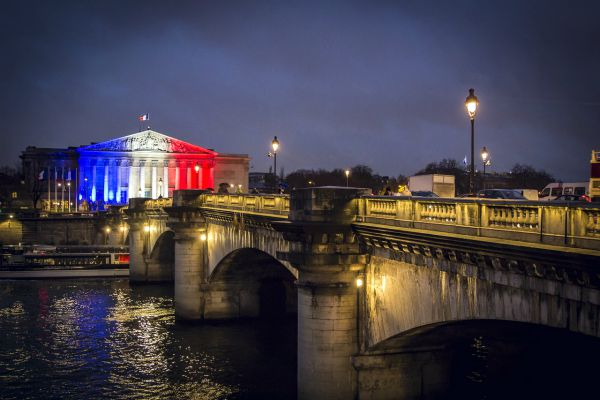Parigi bandiera
