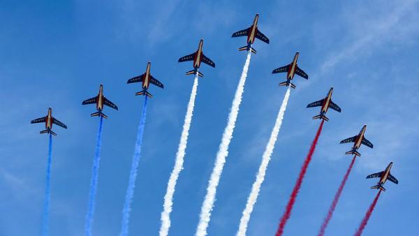 tricolore francese aerei