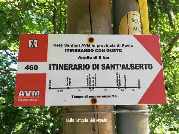 itineario sant'alberto