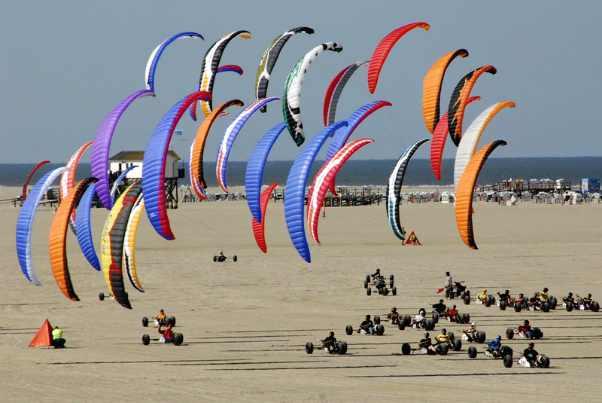 Scheveningen kite buggy