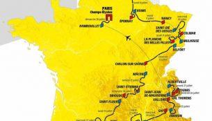 mappa tour de france 2019