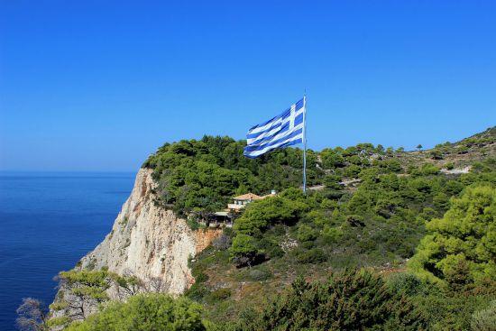 Bandiera greca zante