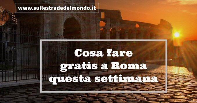 Cosa fare gratis a Roma