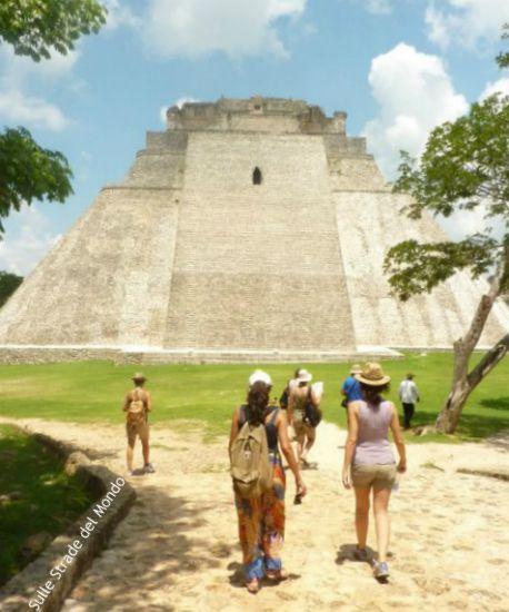 Uxmal piramide